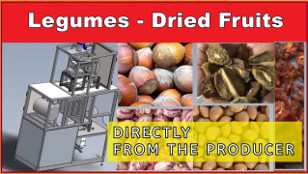 Packing machines for Legumes / Dried Fruits