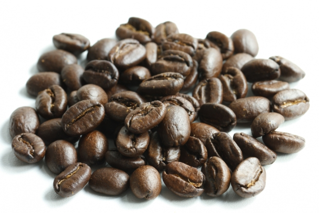 Coffee Beans Packaging with flat degassing valve