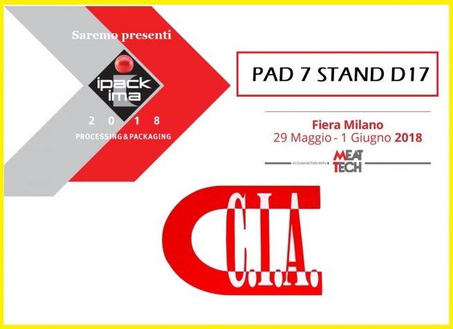 Ipack Ima 2018 - FieraMilano, 29 may - 1 june