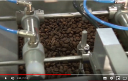 You have to pack coffee beans or ground? Our weighing/packing machines