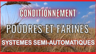 Conditionnement Poudres et Farines