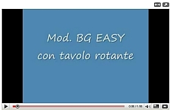 Bg Easy avec table rotative