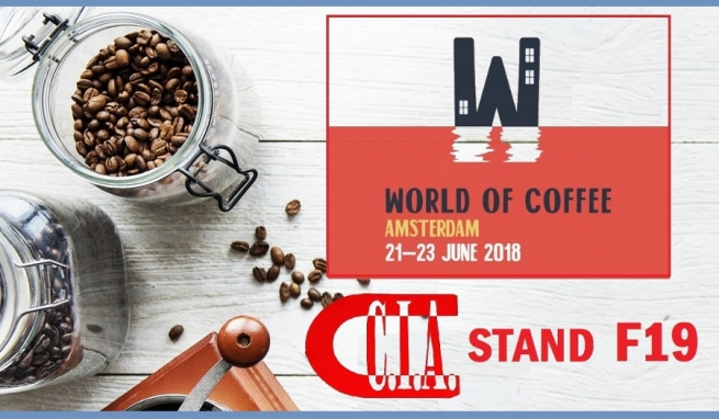 World of Coffee 2018 - Amsterdam, 21 - 23 giugno